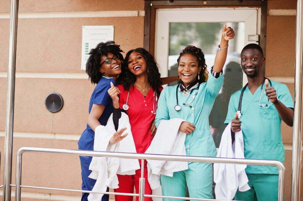 Group of Black American Doctors