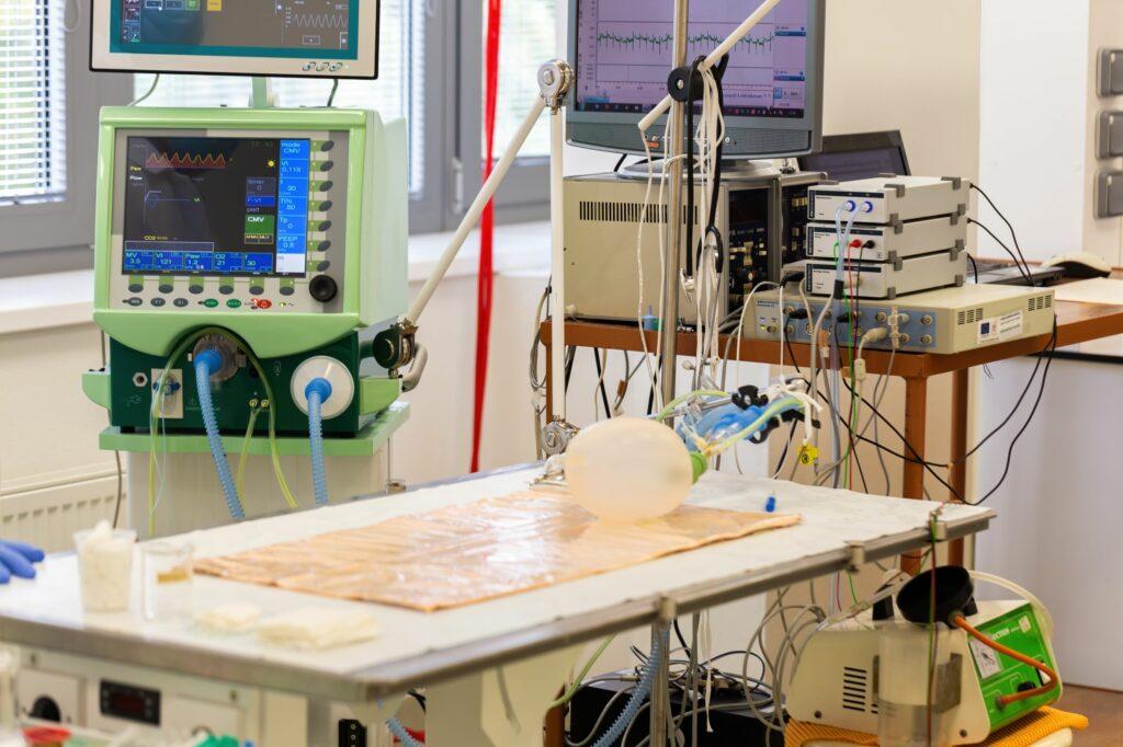 empty intensive care unit