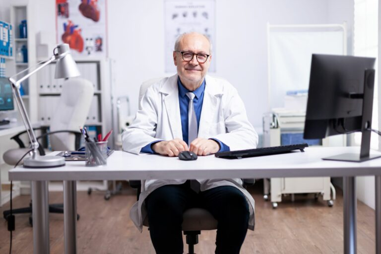 Doctor Choosing the Best Remote Patient Monitoring