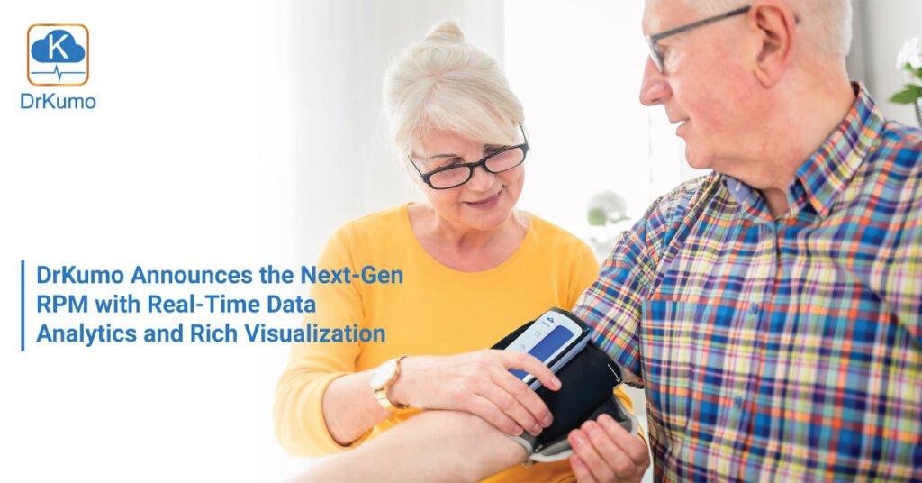 Elderly using DrKumo Blood Pressure Monitor