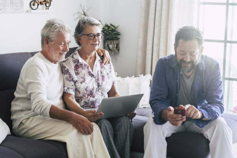 Elderly people satisfied with Remote Patient Monitoring